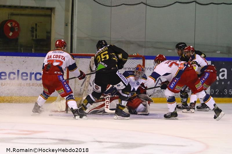 Photo hockey match Rouen - Grenoble