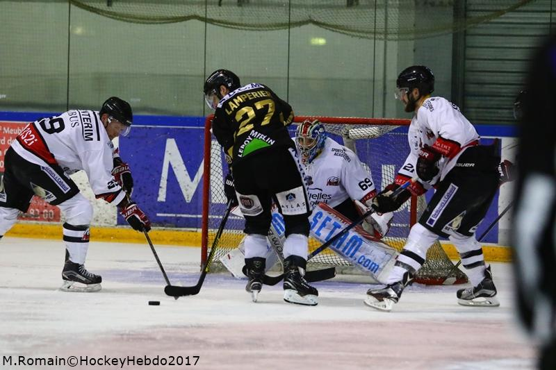 Photo hockey match Rouen - Nice