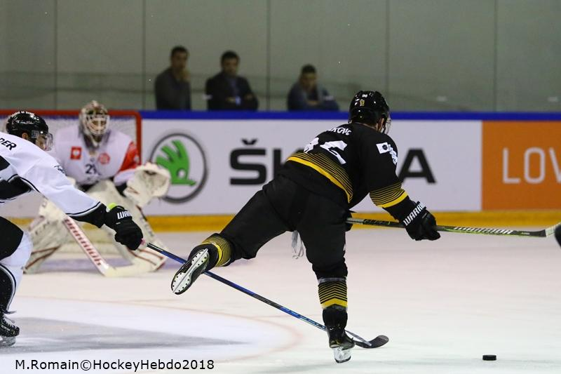 Photo hockey match Rouen - Nuremberg