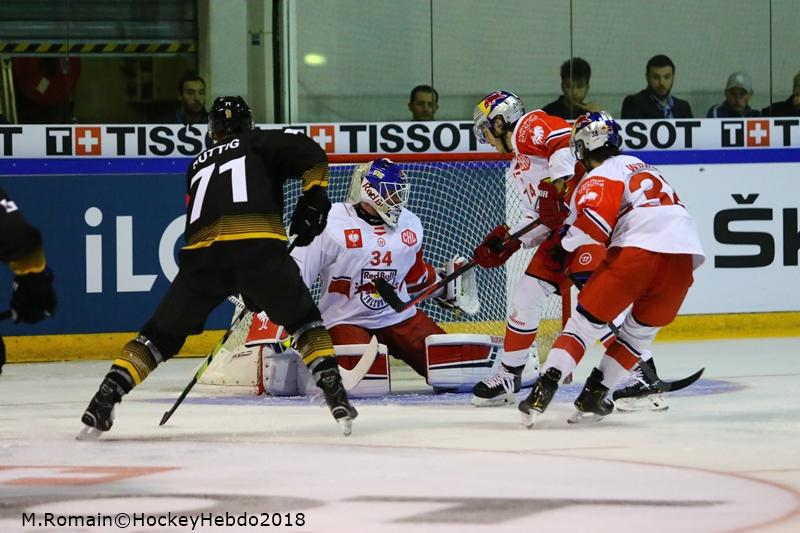 Photo hockey match Rouen - Salzbourg