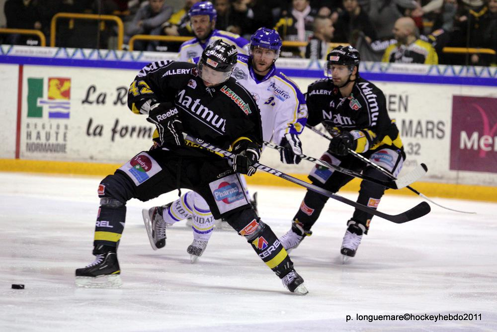 Photo hockey match Rouen - Villard-de-Lans