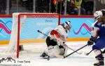 Photo hockey match Slovakia - Switzerland le 21/01/2020