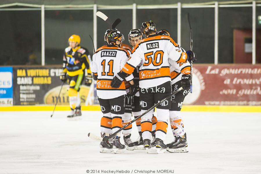 Photo hockey match Strasbourg  - Epinal
