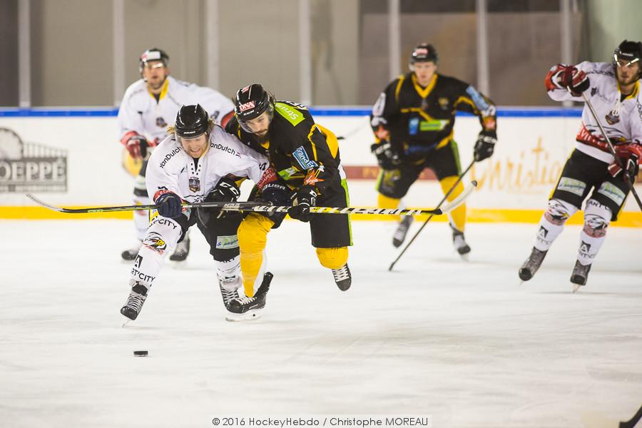 Photo hockey match Strasbourg  - Nice