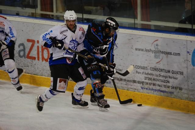Photo hockey match Tours  - Courchevel-Méribel-Pralognan