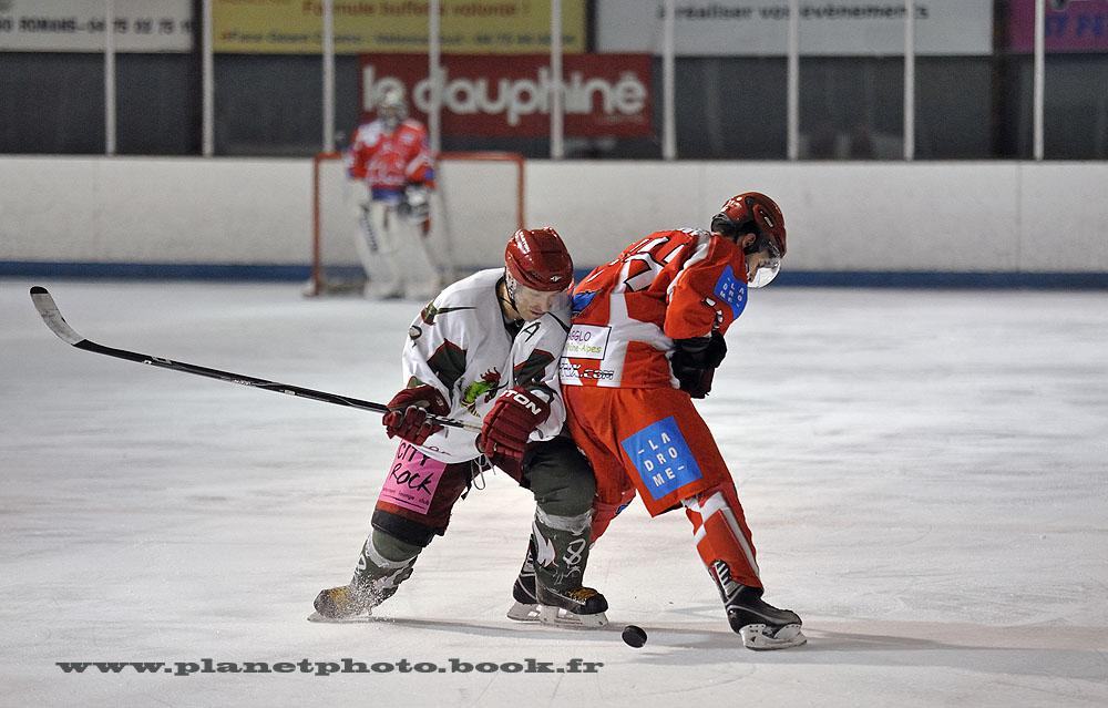 Photo hockey match Valence - Cergy-Pontoise