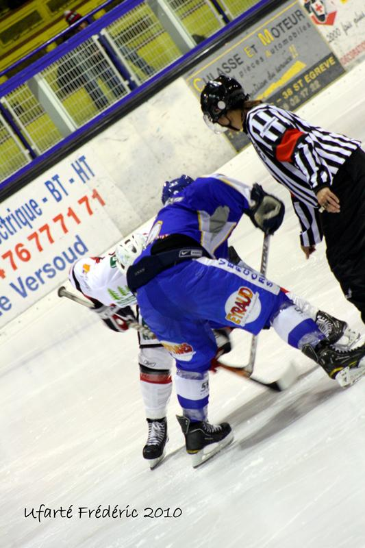 Photo hockey match Villard-de-Lans - Briançon