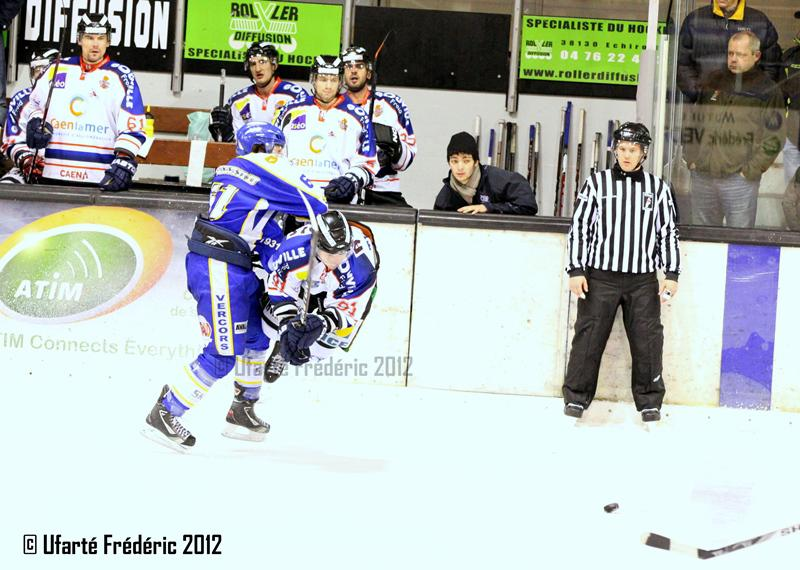 Photo hockey match Villard-de-Lans - Caen