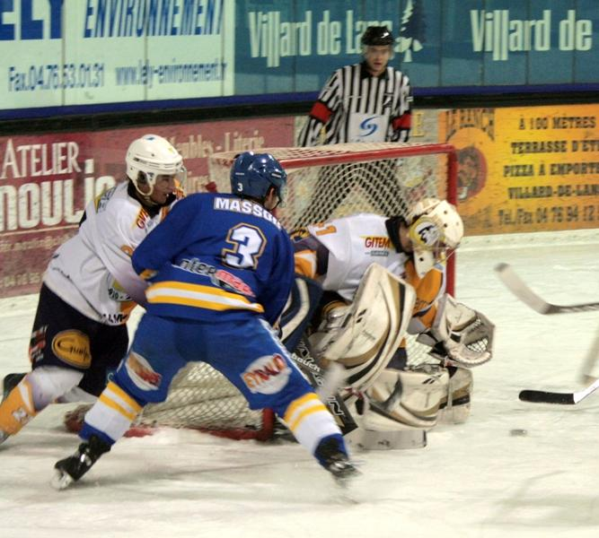 Photo hockey match Villard-de-Lans - Chamonix