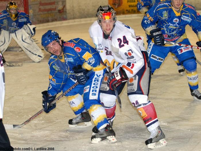 Photo hockey match Villard-de-Lans - Grenoble