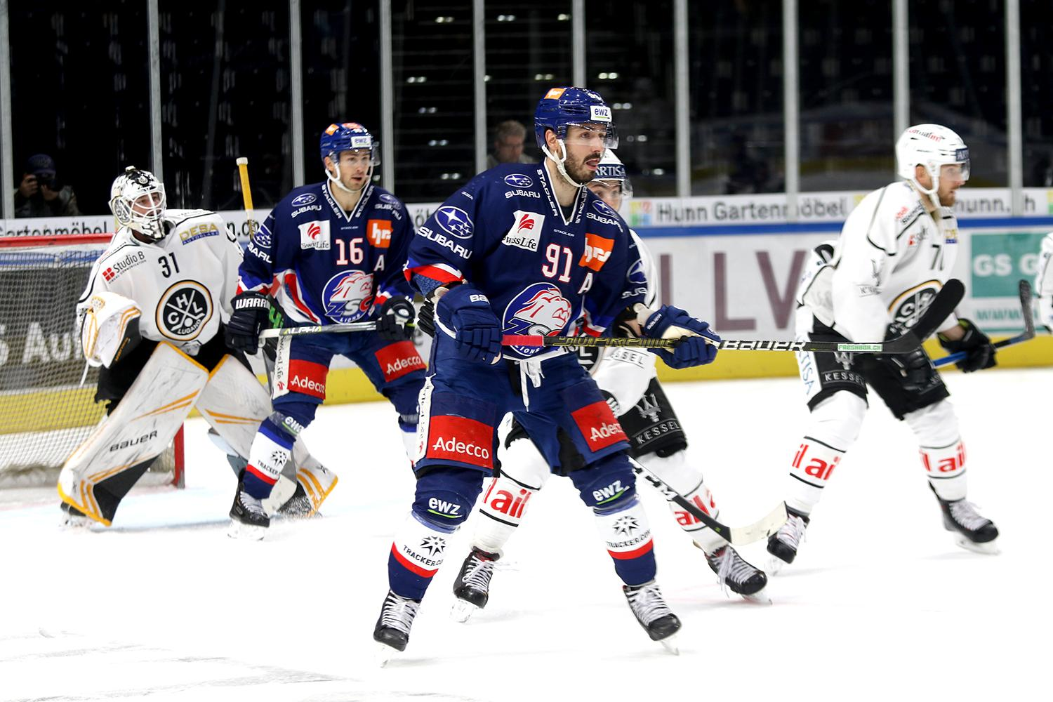 Photo hockey match Zürich - Lugano