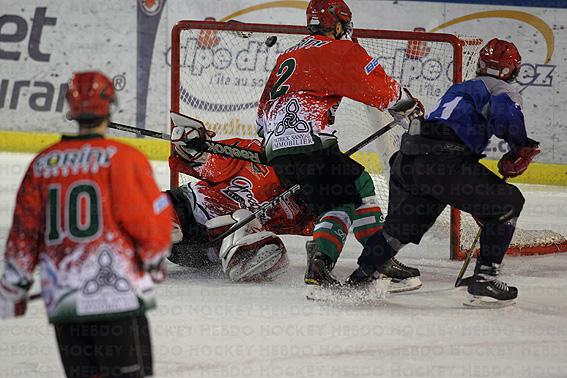 Photo hockey reportage Amical : Lyon - Mont Blanc en Images.