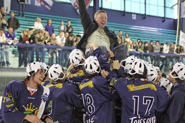 Photo hockey reportage Cadets Elite : Mont Blanc  Champion