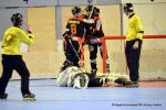 Photo hockey reportage CDF Roller : Les Bombardiers abattus