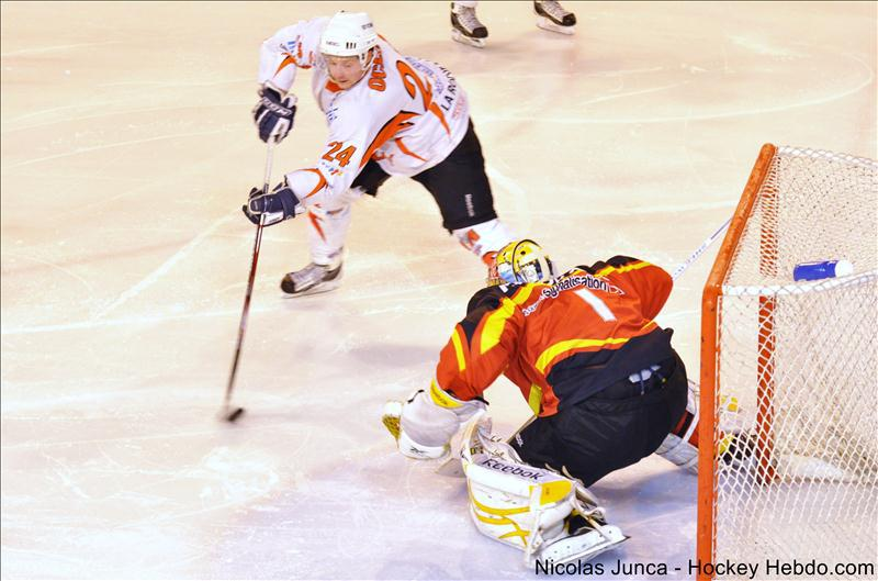 Photo hockey reportage D2 : Meudon vs La Roche en images