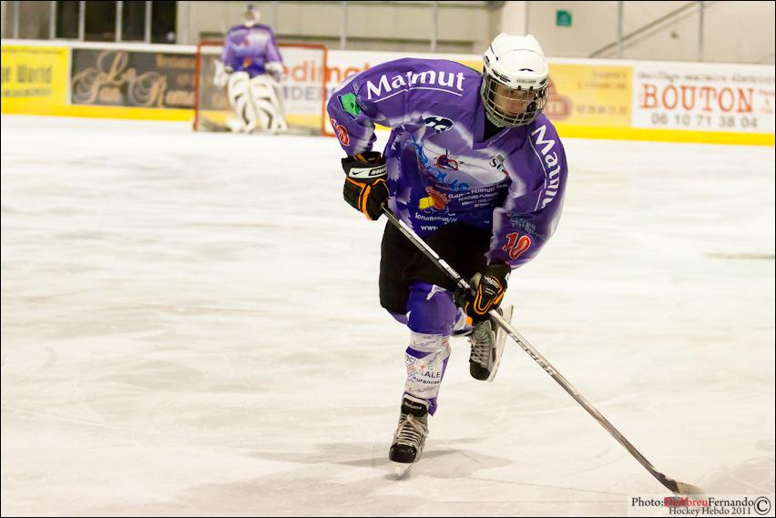 Photo hockey reportage D3 : Epinal Valenciennnes en images