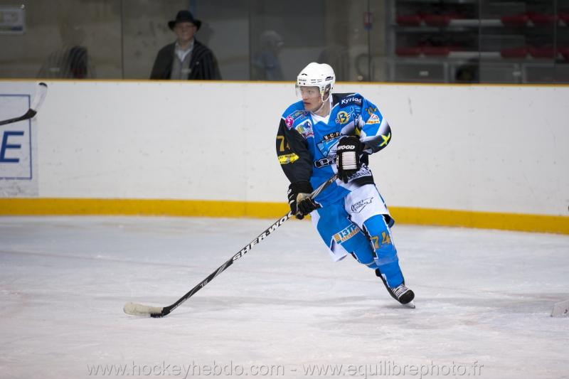 Photo hockey reportage D3 - Marseille vs Briançon