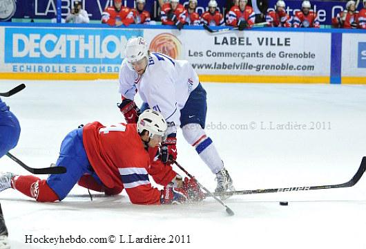 Photo hockey reportage EDF: Du coeur et un certain talent.