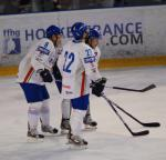 Photo hockey reportage Festival offensif des Bleus