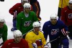 Photo hockey reportage France - Etats-Unis