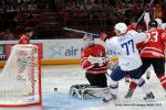 Photo hockey reportage France Canada : Vu par Emily