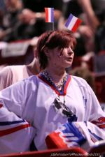Photo hockey reportage France Canada : Vu par Jacky