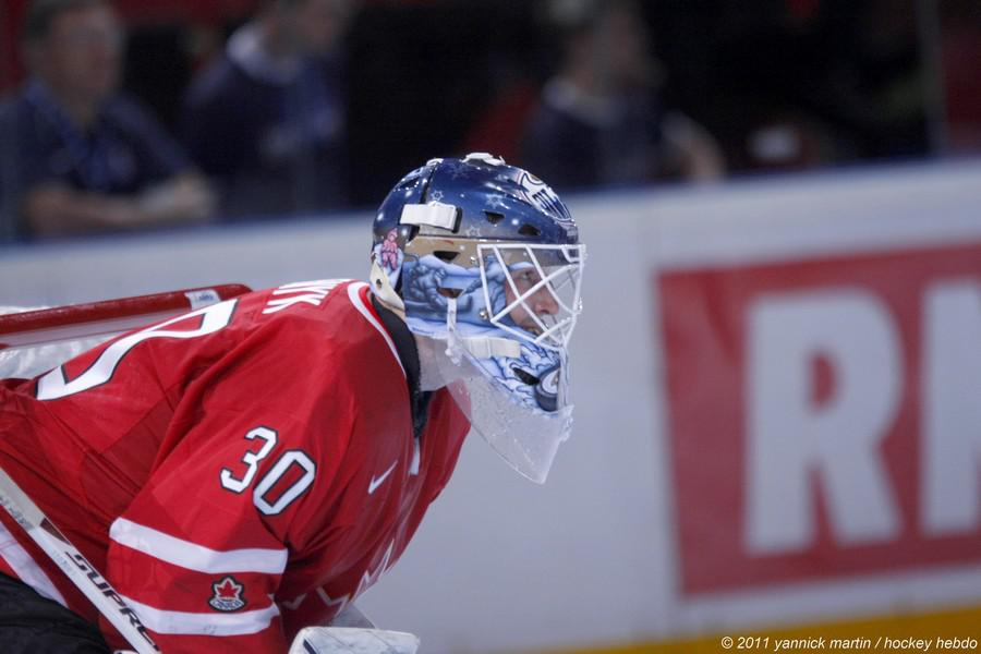 Photo hockey reportage France Canada : Vu par Yannick