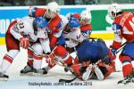 Photo hockey reportage Hockey mondial 10: Sensation norvégienne