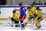 Photo hockey reportage Les Dragons chutent mais espèrent.