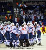 Photo hockey reportage Mondial 11: La France sauvée !