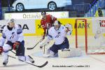 Photo hockey reportage Mondial 11: La France trop tendre !