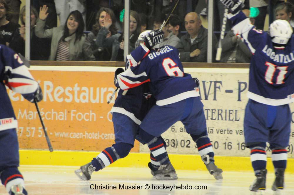 Photo hockey reportage Mondial Féminin : France vs Danemark