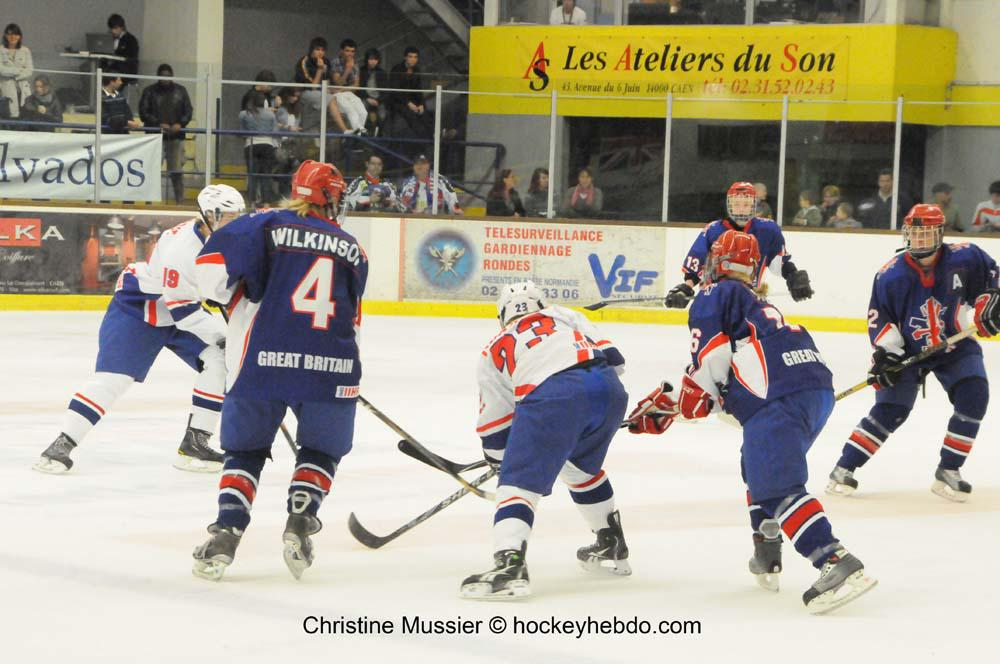 Photo hockey reportage Mondial Féminin : France vs Grde Bretagne