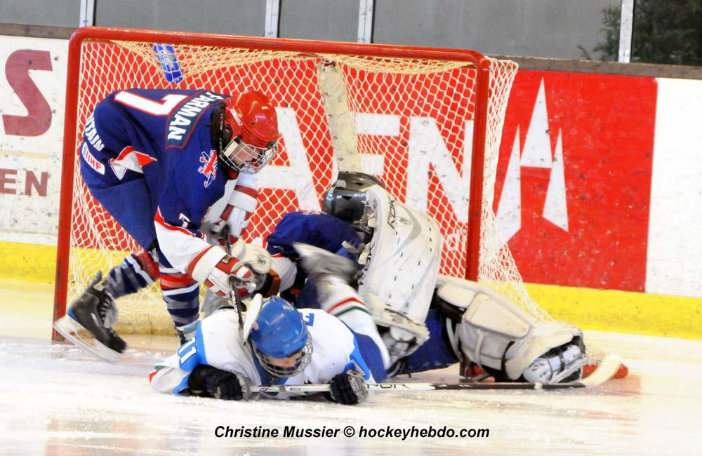 Photo hockey reportage Mondial Féminin : Grde Bretagne vs Italie