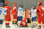 Photo hockey reportage Mondial Féminin : Italie vs Danemark