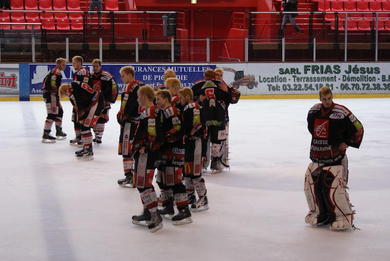 Photo hockey reportage PO U18 Elite : Amiens - Rouen Retour