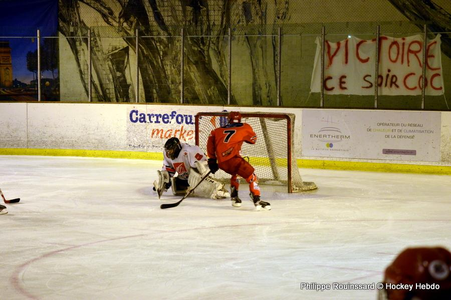 Photo hockey reportage U15 Elite : Les Dogs ont du chien