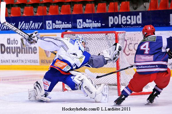 Photo hockey reportage U22: Grenoble prend une grosse option