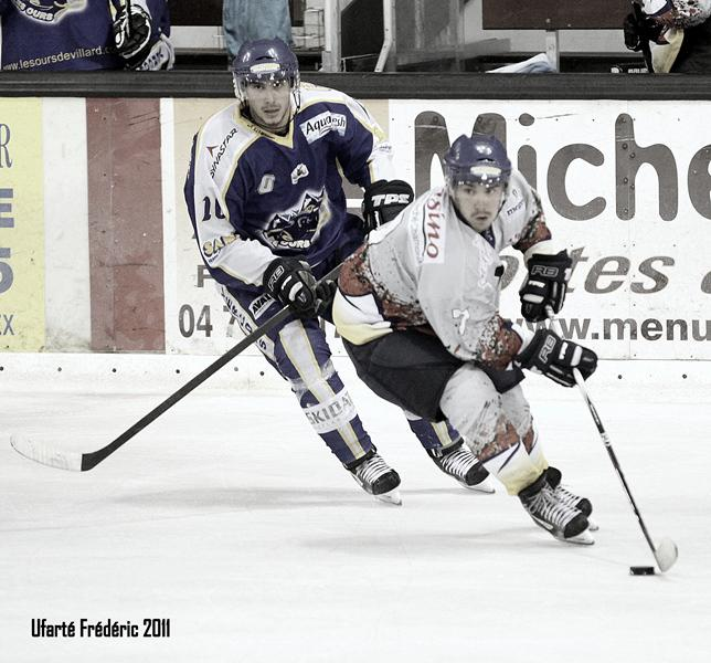 Photo hockey reportage Villard - Mt Blanc : 8-4